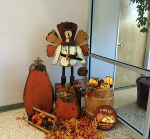 Fall Turkey Scene