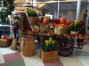 Fall Wagon Display