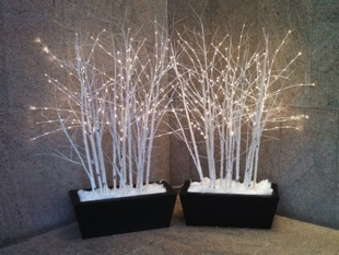 White LED Branches