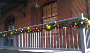 Decorated Exterior Garland